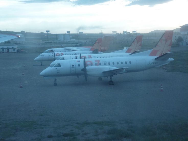 Chinggis Khaan International Airport - SAAB 340 EzNis