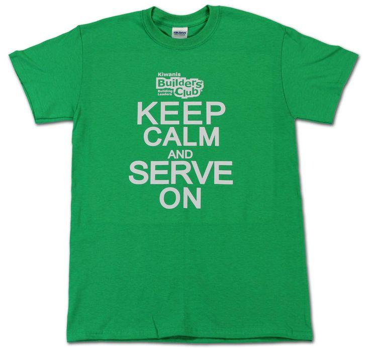 Keep Calm and Serve On