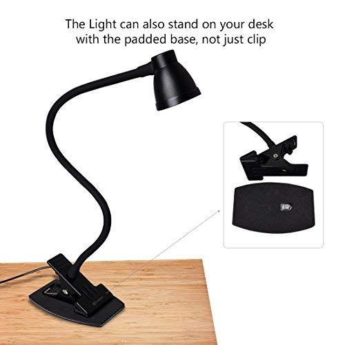 3000-6500K Adjustable Colo... CeSunlight Clamp Desk Lamp Clip on Reading Light