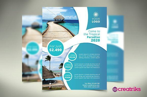 Resort Flyer. Flyer Templates