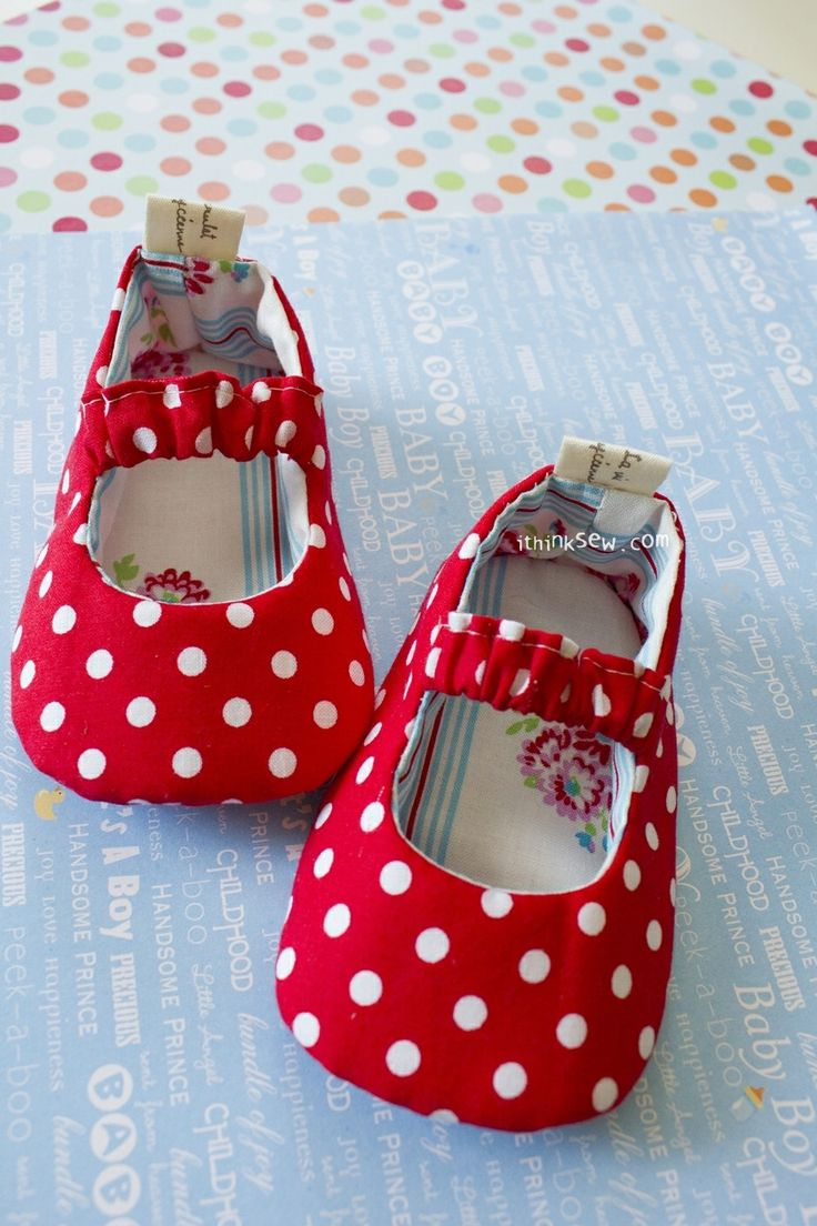 68 Baby Mary Jane Shoes PDF Pattern