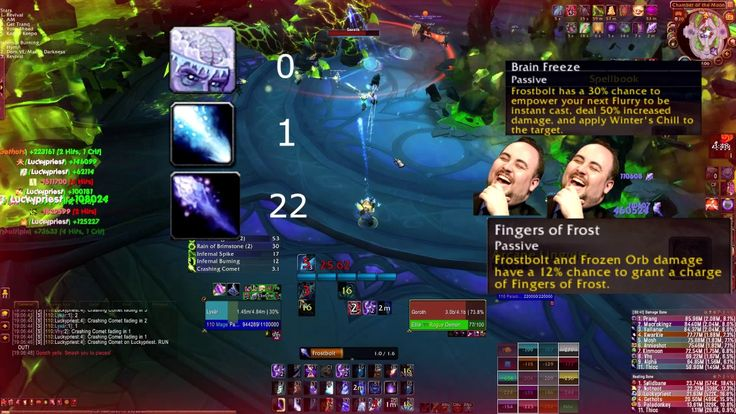 Frost mage is a lot of fun #worldofwarcraft #blizzard #Hearthstone #wow #Warcraft #BlizzardCS #gaming