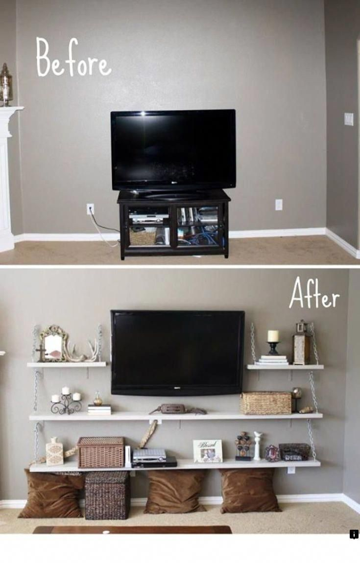 Read Information On Adjustable Tv Wall Mount Just Click On The Link F Apartment Decorating On A Budget Small Apartment Decorating First Apartment Decorating