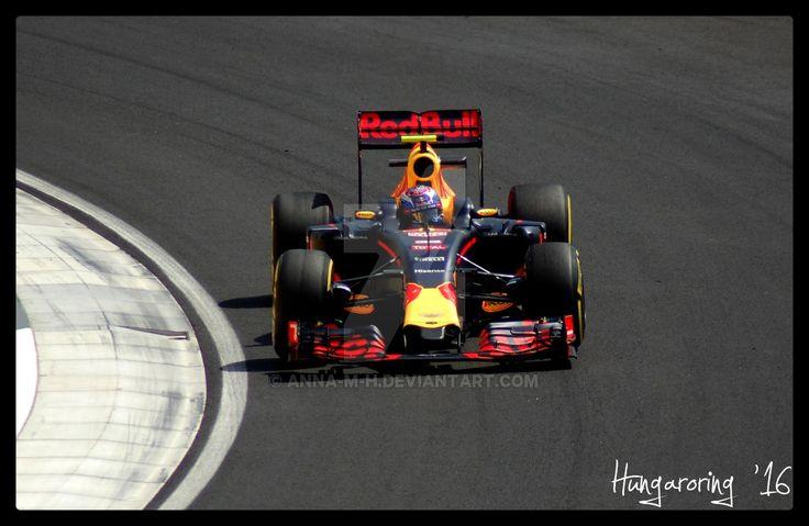 Max Verstappen @ Hungaroring '16 by Anna-M-H
