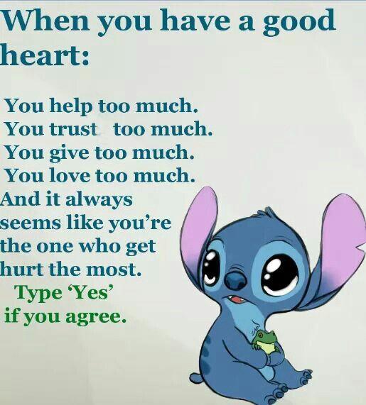 I love you stitch