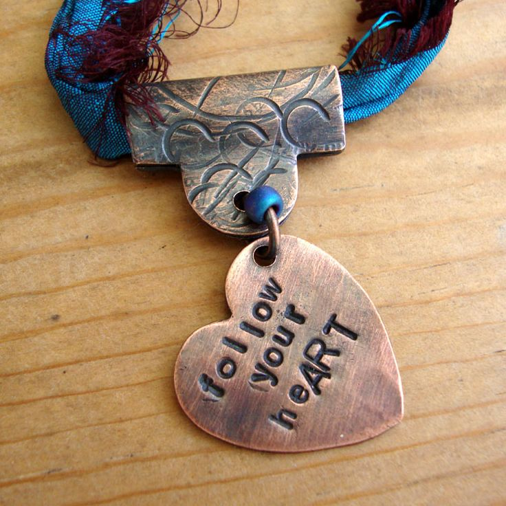 119 best hand stamped jewelry images on pinterest hand stamped love my art jewelry texturing metal great post by barbara bechtel for how to do more with your textured sheet metal to make unique handmade jewelry audiocablefo