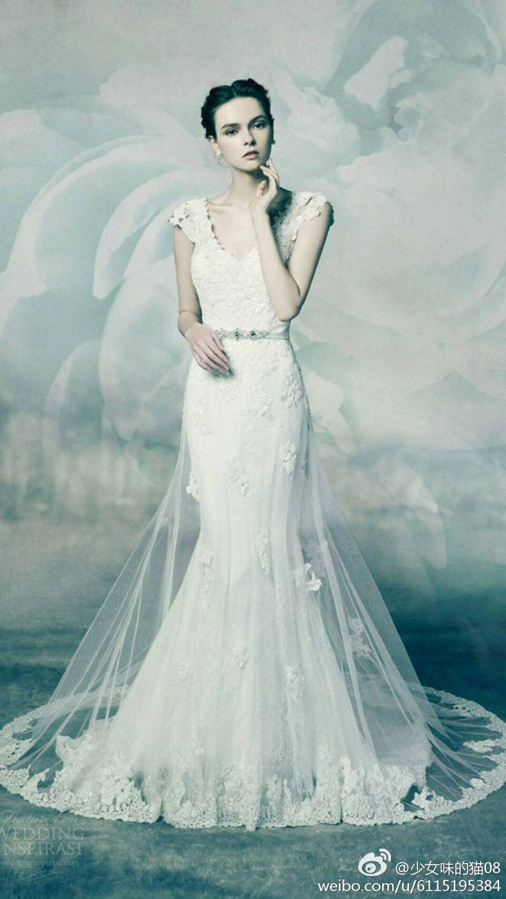 42 mejores imágenes de Wedding Dress en Pinterest | Bodas de encaje ...