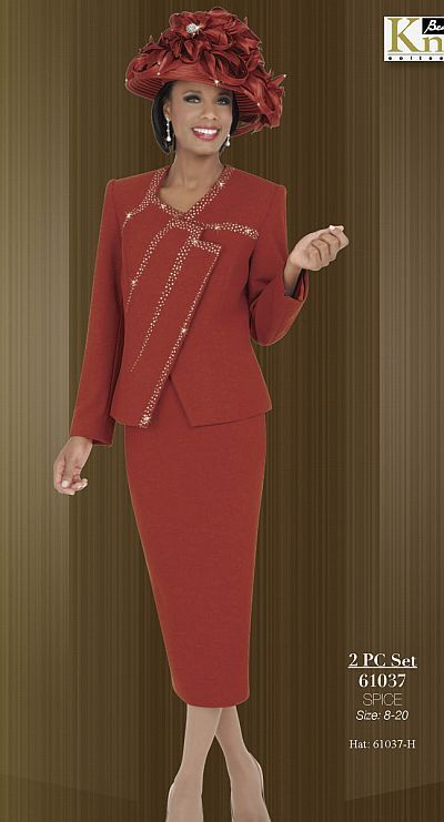 Ben Marc Knits Womens Church Suit 61037 image