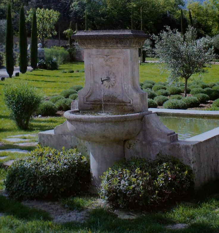 english garden fountains water features 993 best Love your garden -I- images on Pinterest