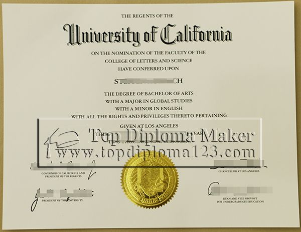 The University Of California Degree Sample Buy Fake The