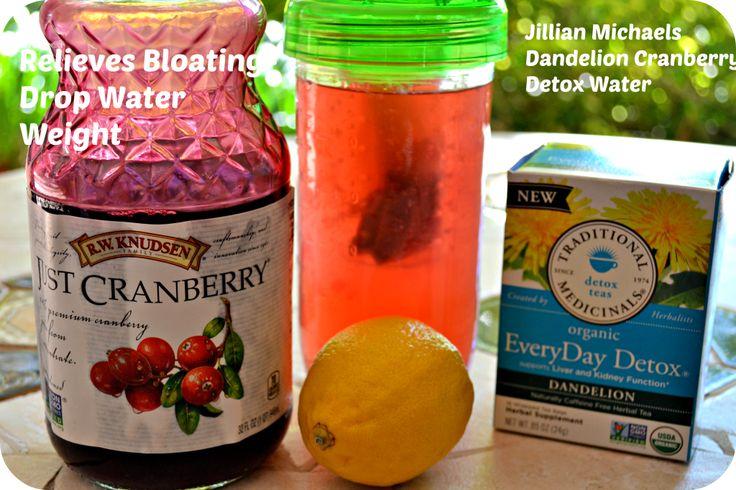 Jillian Michaels Detox Drink | http://skinnyover40.com/jillian-michaels-detox-drink/