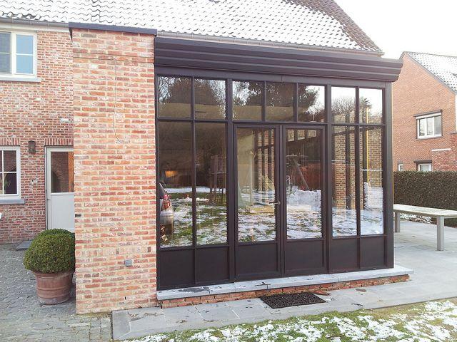 Veranda steellook zwarte structuurlak - Adr Construct (3) | by ADR Construct