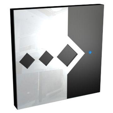 Light Touch Switch: Sleek Diamond Single Touch Light Switch,Lighting