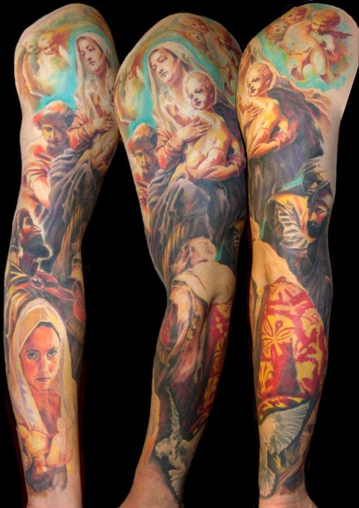26 best images about tattoos for grady on pinterest for Tattoos catholic church