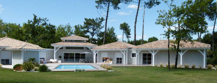 Maison bois en pin des Landes par Lorin - la maison bois par maisons-bois.com