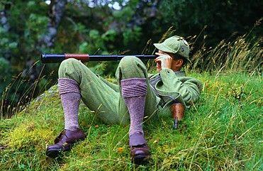 Spying in Lovat Tweed