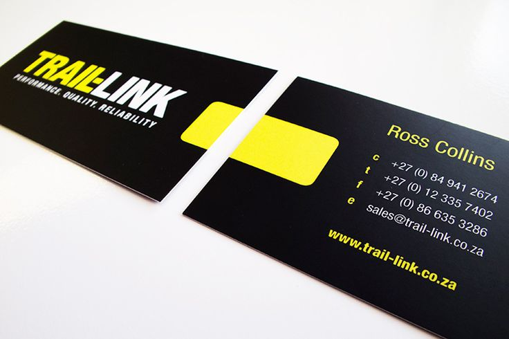 Trail Link Business Cards