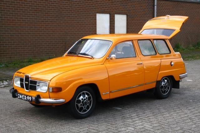 Saab 95, 1975.