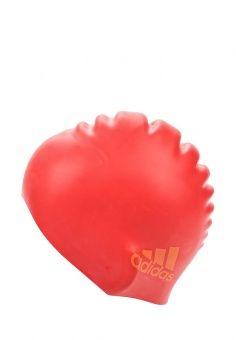 Шапочка для плавания, adidas Performance, цвет: красный. Артикул: AD094DGQML40.