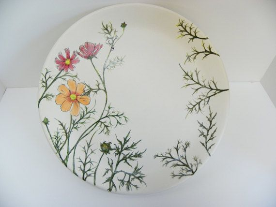Cosmos Plate on Etsy, 34,19 €