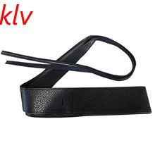 FREE Shipping Worldwide     Unique arrival KLV Womens Faux Leather Belts Soft Wide Self Tie Wrap Around Obi Waist Band Boho Dress Belt now on sale $US $2.66 with free shipping  yow will discover the following item along with much more at our on-line store      Buy it now at this site >> https://tshirtandjeans.store/products/klv-womens-faux-leather-belts-soft-wide-self-tie-wrap-around-obi-waist-band-boho-dress-belt/    #URBAN}