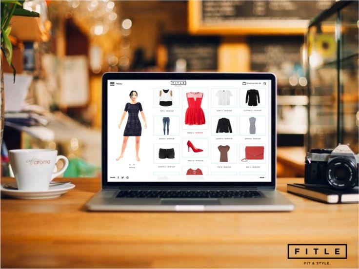 Fitle permet de visualiser les vêtements sur son avatar 3D #ECP14