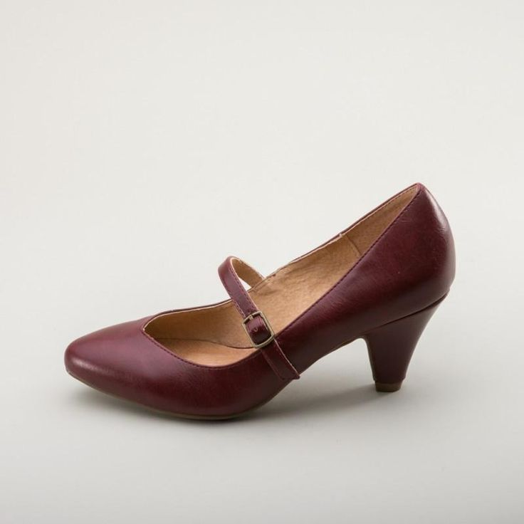 Rock Spring Over Bordo, Schuhe, Flache Schuhe, Mary Janes, Lila, Female, 35