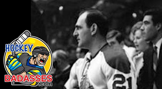 Historic NHL Moments: Bob Baun - Hockey Badasses #nhl #Stanley_Cup #Bob_Baun #Broken_Ankle