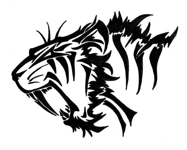 sabertooth tiger foot print - Google Search