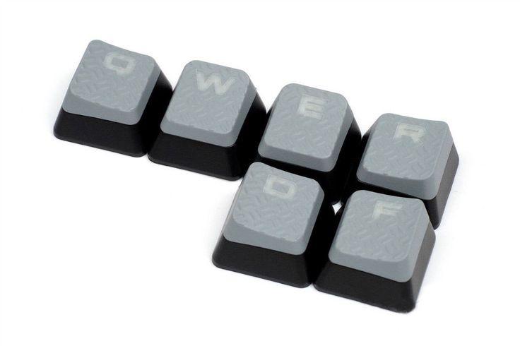 Original FPS Corsair Strafe WASD Keycaps for Gaming Keyboards cherry MX Key | eBay
