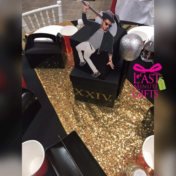 16 best Bruno Mars Themed Party 24K Magic images on Pinterest ...