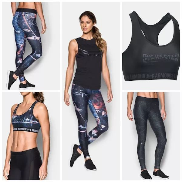 Under Armour Adds To Their 'Star Wars' Athletic Apparel Line For Women
