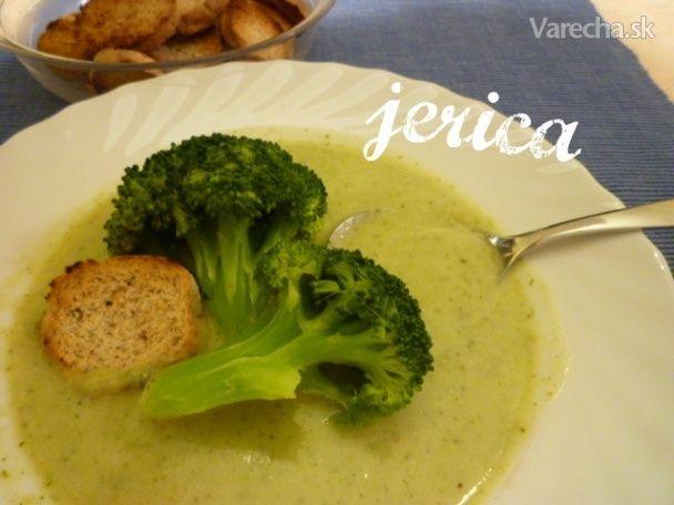 Krémová brokolicová polievka (fotorecept) - Recept