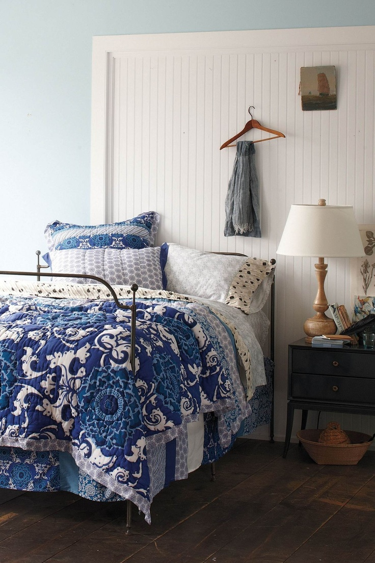 blue wall cobalt blue blue room blue bedrooms blue beds white