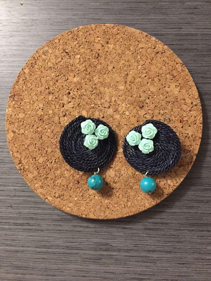 #orecchini #handmade #diy #roselline