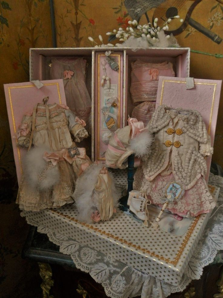 ~~~Marvelous French Bebe Winter-Costume-Ensemble In Presentation ~~~ from whendreamscometrue on Ruby Lane