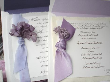 very elegant wedding invitations.