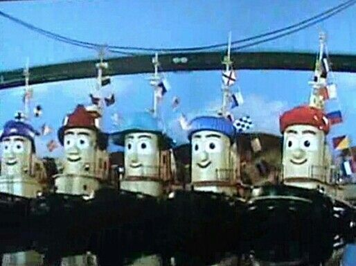 Everyone in the Big Harbour wants to wish you all a.......  Tooty New Years!  Bonne Annèe! Feliz Año Nuevo! 明けましておめでとうございます  (Akemashite Omedetogozaimasu)