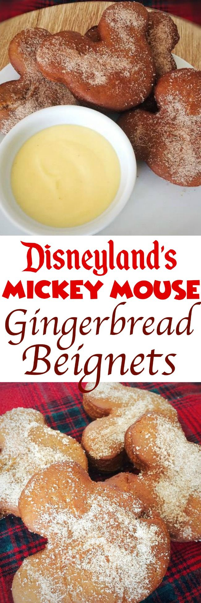 The recipe for Disneyland's Gingerbread Beignets. The perfect Christmas breakfast or dessert.