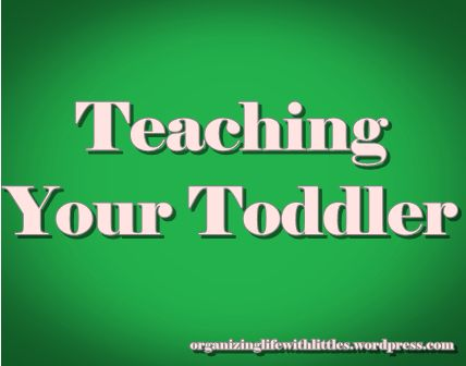 My Homemade Toddler Curriculum (Teaching Your Toddler Part 4 of 4)