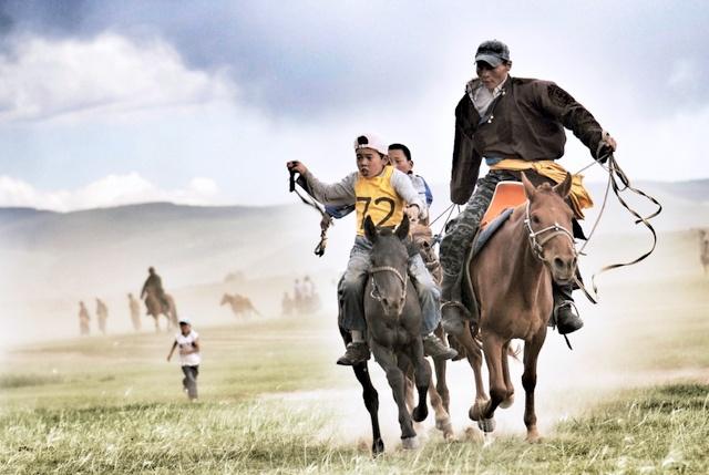 Na'daam in Mongolia