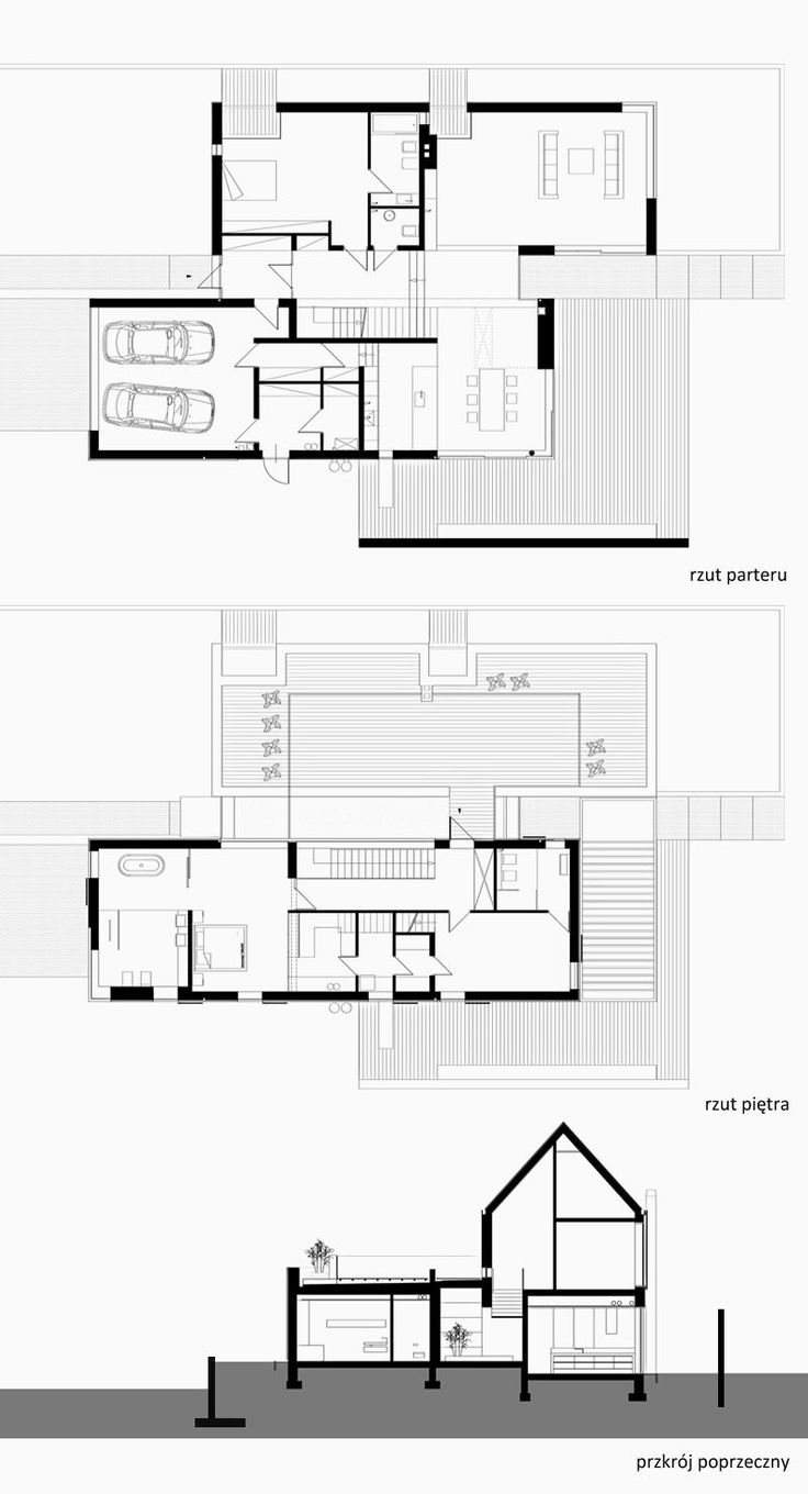 429 Best Architecture Images On Pinterest Residential Apexi Safc Wiring Diagram Dom Pod Gdaskiem Pracownia 111