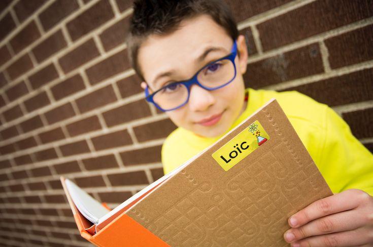 Étiquettes d'identification personnalisées - #kids #sticker #enfants #étiquettes