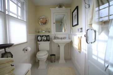 1920s Bathroom Board And Batten With Ledge Vintage