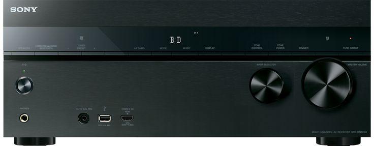 Best Av Receiver Selon Cnet 2014 : Sony STR DN 1050 650Euro (http://www.sony.fr/electronics/ampli-tuners-av/str-dn1050)  Images de Ampli-tuner Home Cinema 7.2 canaux