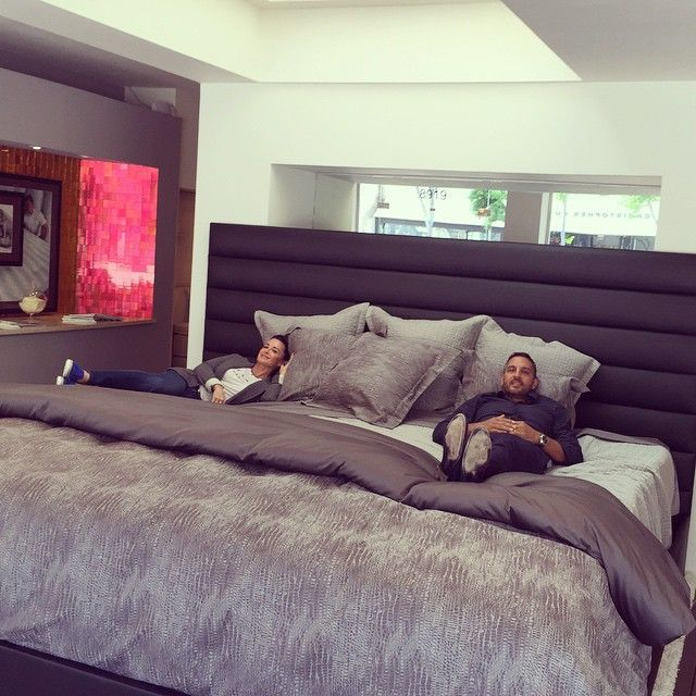 Extreme King Size Bed 10ft X 9ft Mattress Love The Headboard Bedding Too Big Beds Custom Bed Family Bed