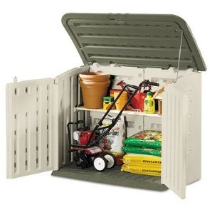 Rubbermaid Storage Shed for under the deck