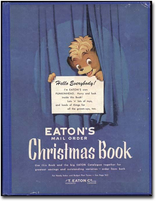 Eaton's Mail Order Christmas Book, 1954-55