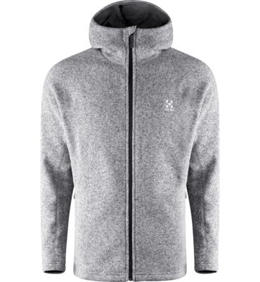 Swook Hood Men - A warm hooded jacket made from fleece with a knit face for mid or outer layer use.