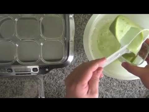Crèmes dessert à la pistache avec la yaourtière Multi Délice de SEB - YouTube